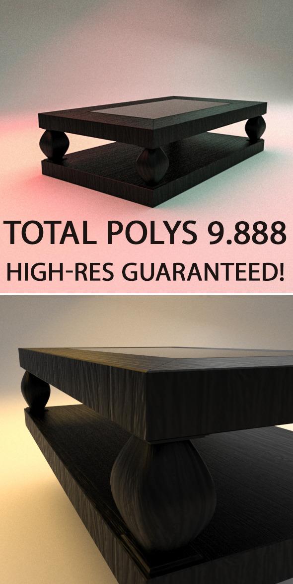 3DOcean High Class Table 6502522