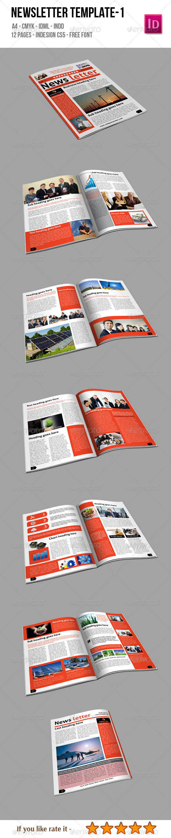 GraphicRiver Newsletter Template 1 6502896