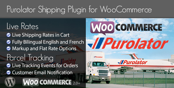 Purolator Woocommerce Shipping Plugin