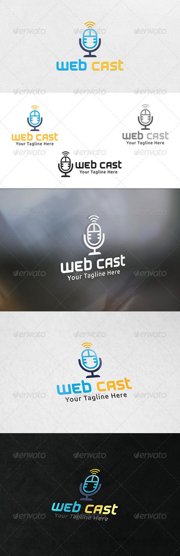 GraphicRiver Web Cast Logo Template 6503236