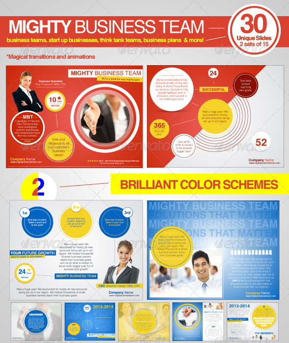 GraphicRiver Mighty Business Team 6485134