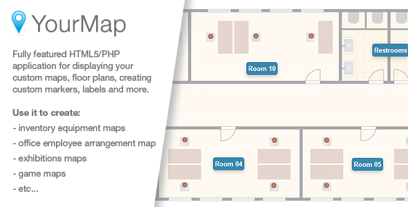 CodeCanyon YourMap customizable maps with back-end panel 6503550