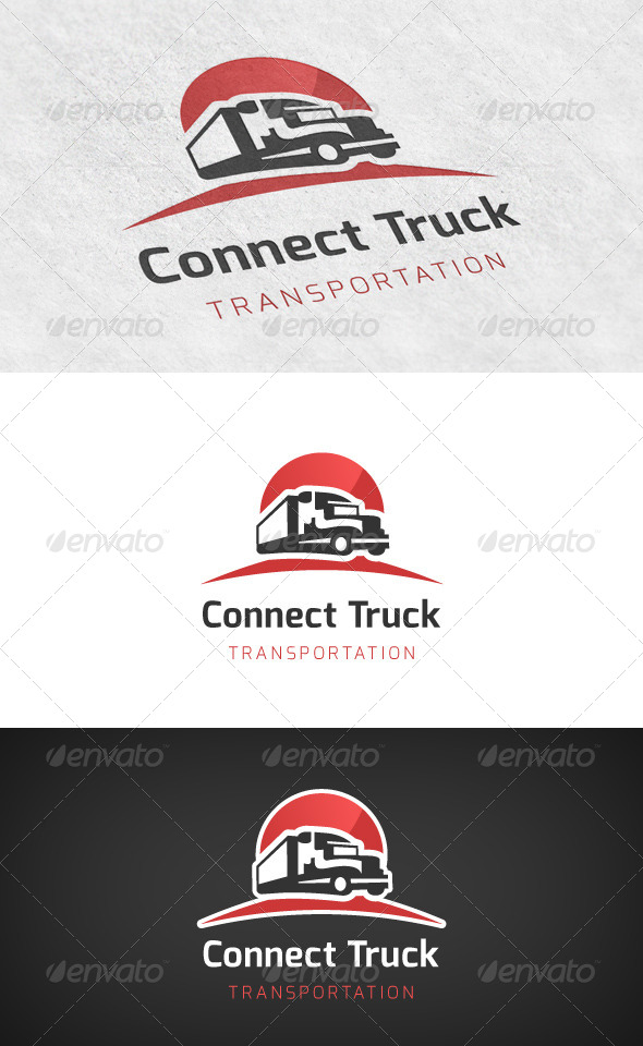 GraphicRiver Truck Transport Logo 6503911