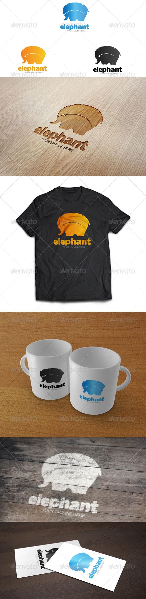 GraphicRiver Elephant Logo Template 6503977