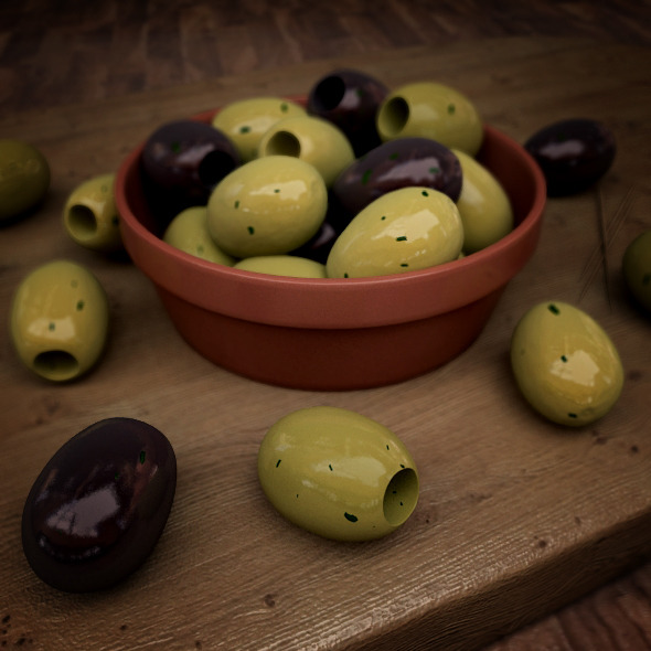 3DOcean Photo-real Olives 6504927