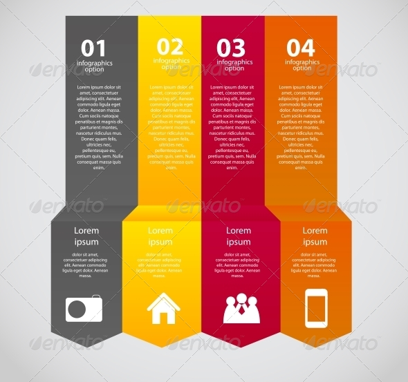 GraphicRiver Infographic Business Template Vector Illustration 6505490