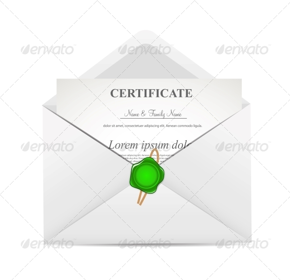 GraphicRiver Certificate in Envelope 6505629