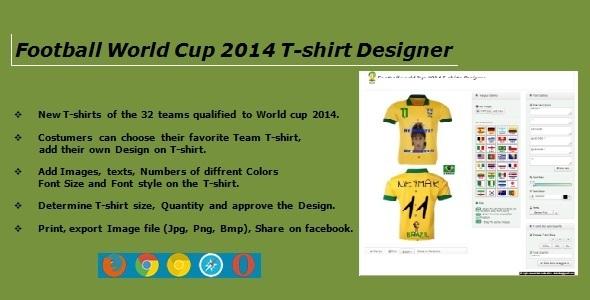CodeCanyon Football Worldcup 2014-Tshirt-Designer 6471855