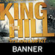 King of the Hill Gaming Banner Template - GraphicRiver Item for Sale