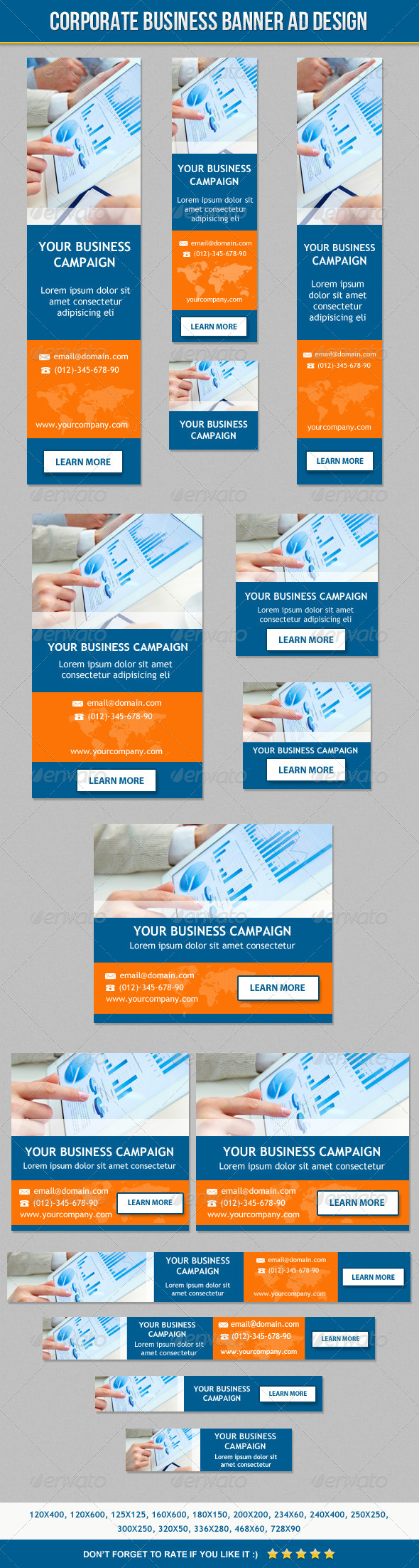 GraphicRiver Corporate Business Banner ad Design 6505958