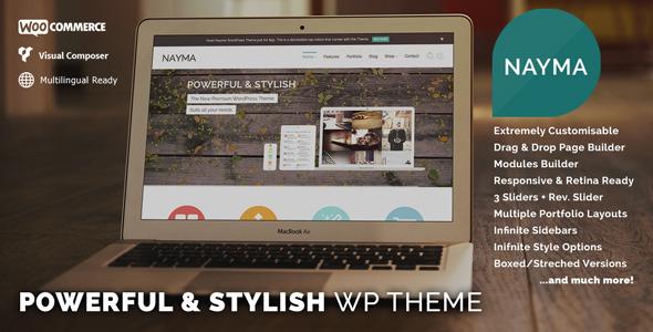 ThemeForest Nayma Responsive Multi-Purpose WordPress Theme 6492730