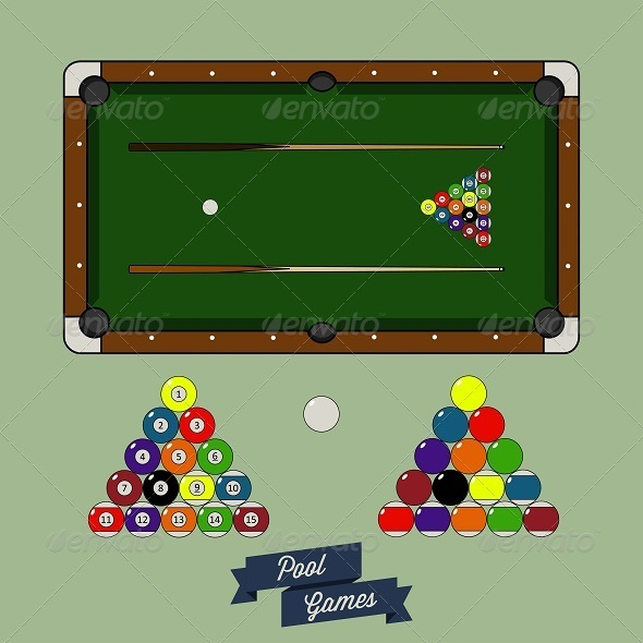 GraphicRiver Pool Game Assets 6506041