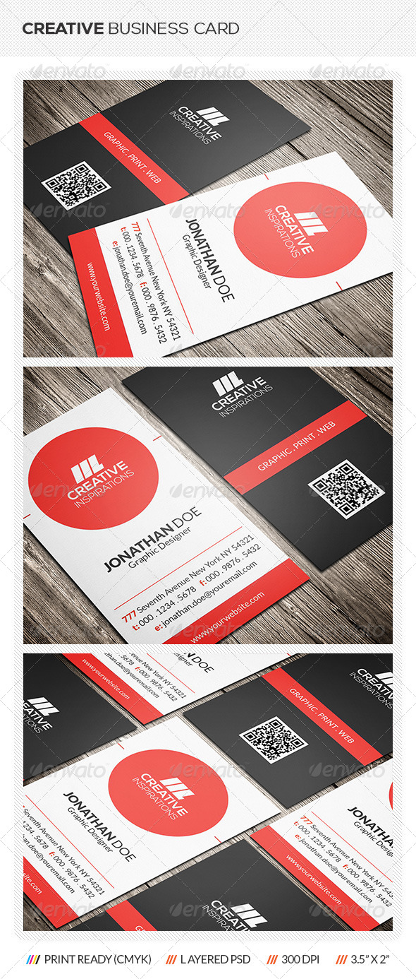 GraphicRiver Creative Business Card 6506070