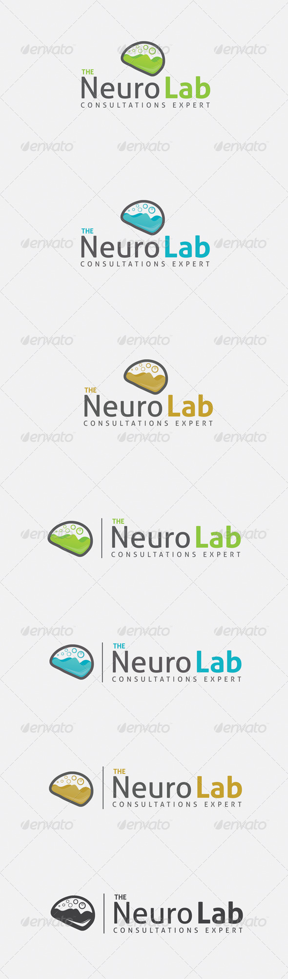 GraphicRiver Brain Logo 6506072