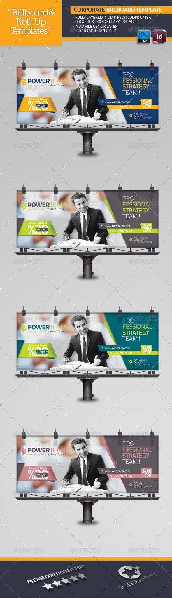 GraphicRiver Corporate Billboard Template 6506116
