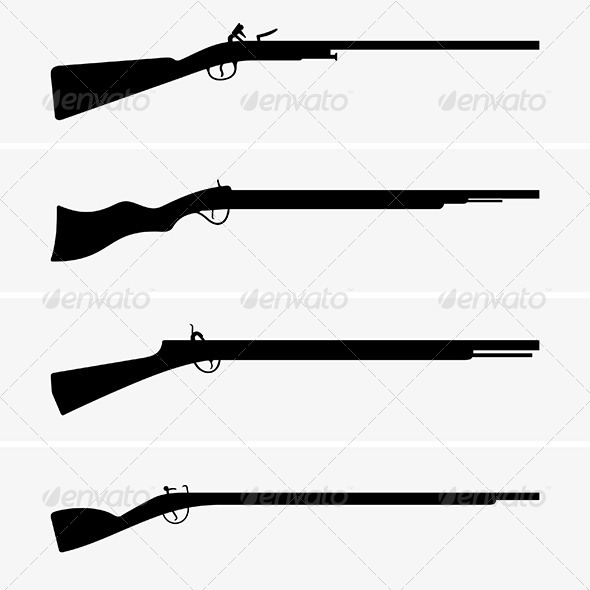 GraphicRiver Vintage Guns 6506251