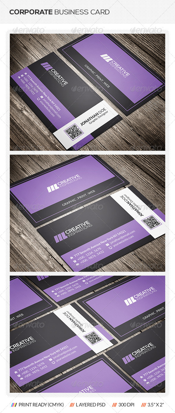 GraphicRiver Creative Corporate Business Card 6506627