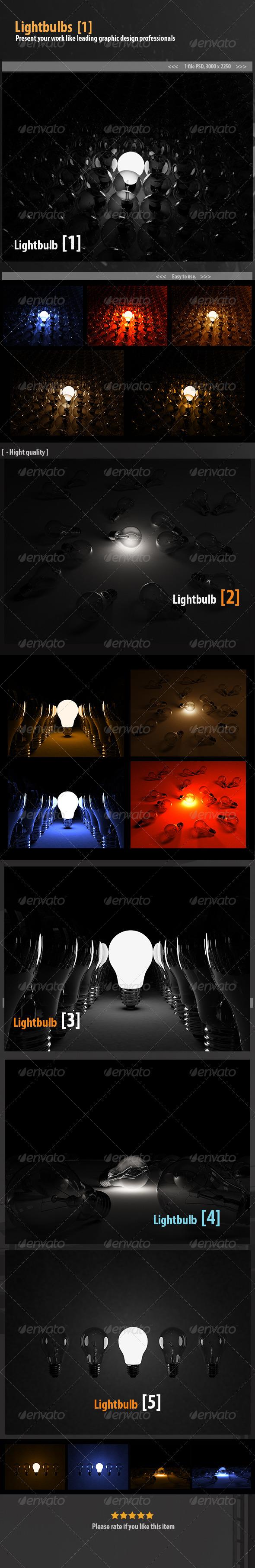 GraphicRiver Lightbulbs 6506779