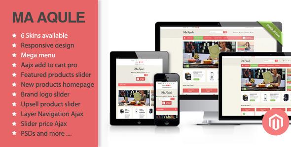 Aqule - Responsive Magento Theme - Magento eCommerce