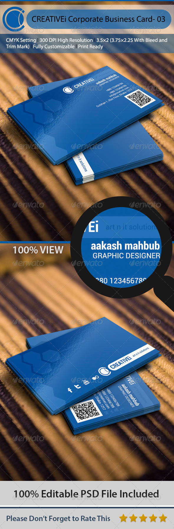 GraphicRiver Corporate Business Card- 03 6484069