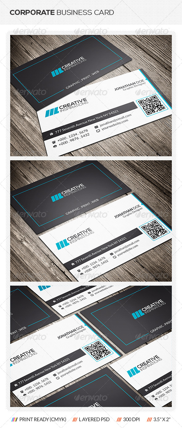 GraphicRiver Modern Business Card 6507126