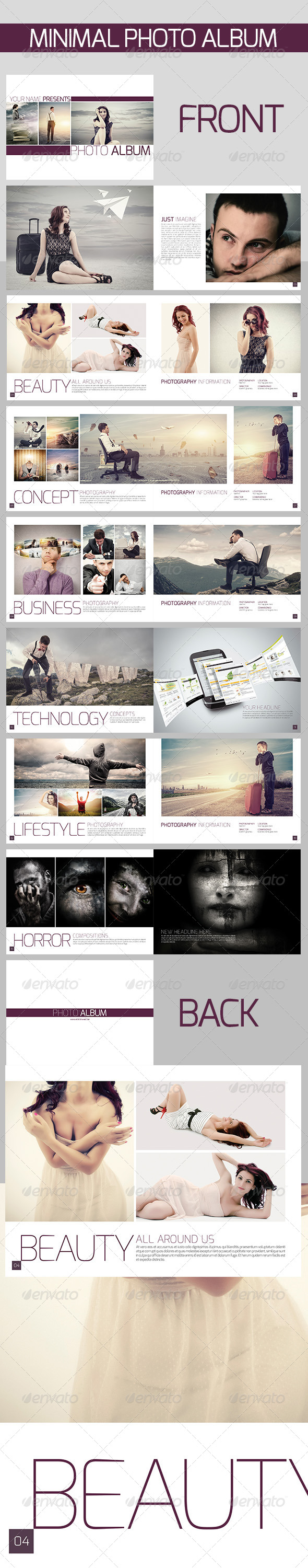 GraphicRiver Minimal Photo Album 6485986