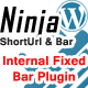 Inside Blog Ninja Bar Plugin - CodeCanyon Item for Sale
