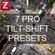12 HQ Tilt-Shift+Color Presets