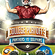 Football Big Game Flyer Template - GraphicRiver Item for Sale