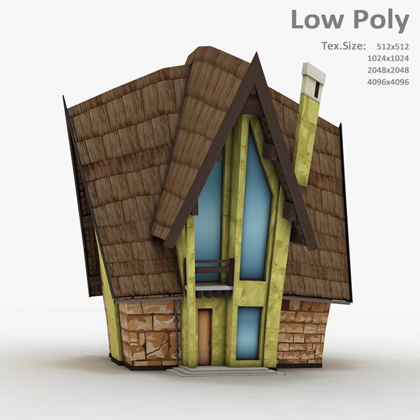 Building 006 - 3DOcean Item for Sale