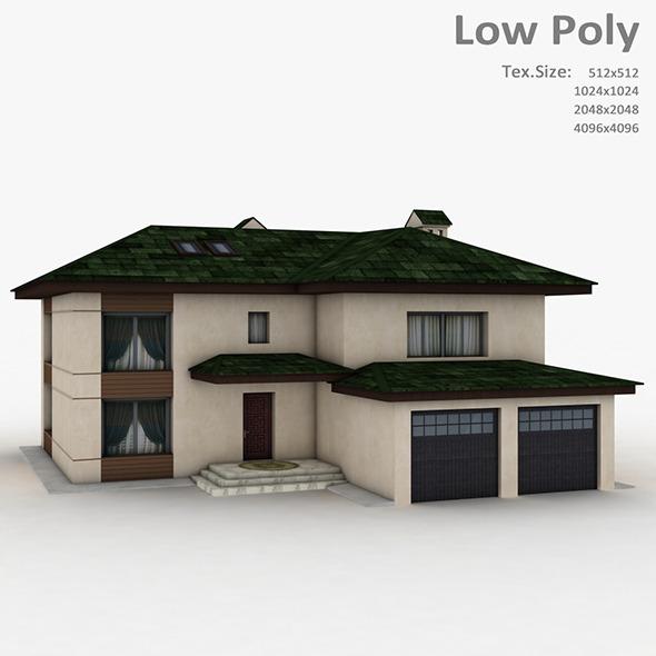 3DOcean Building 007 6507406