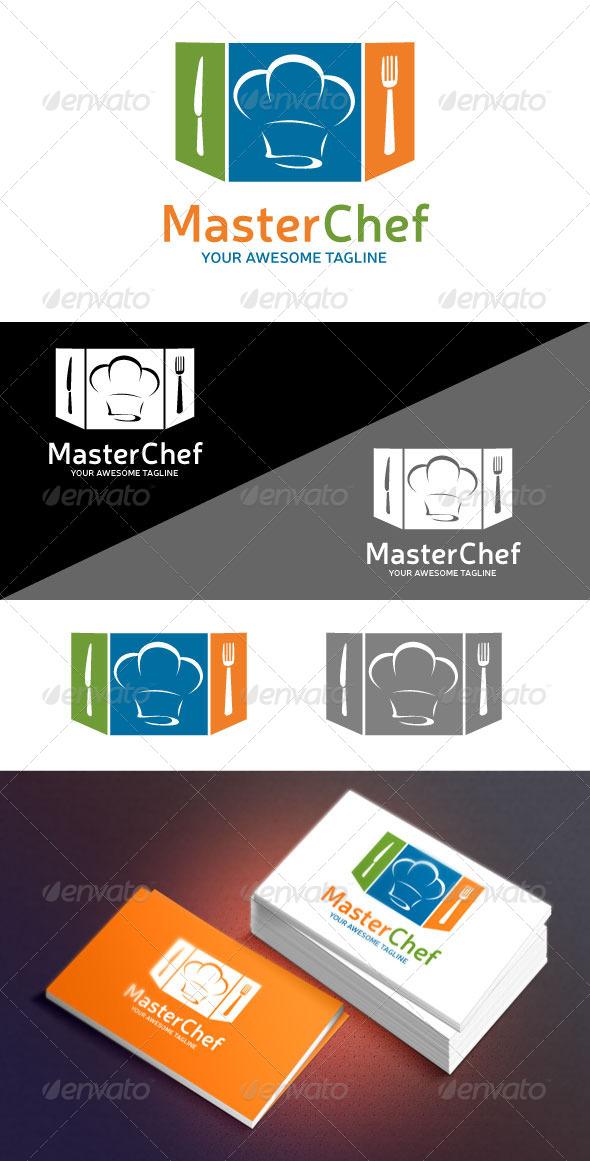 GraphicRiver Master Chef Logo 6505245