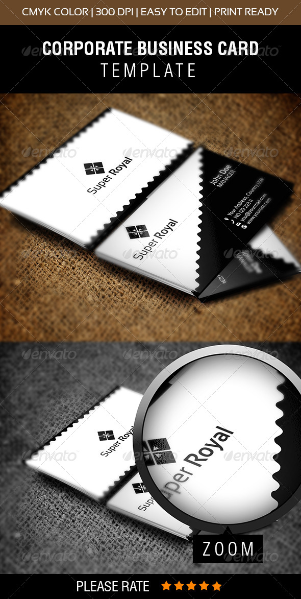 GraphicRiver Super Royal Business Card 6507693