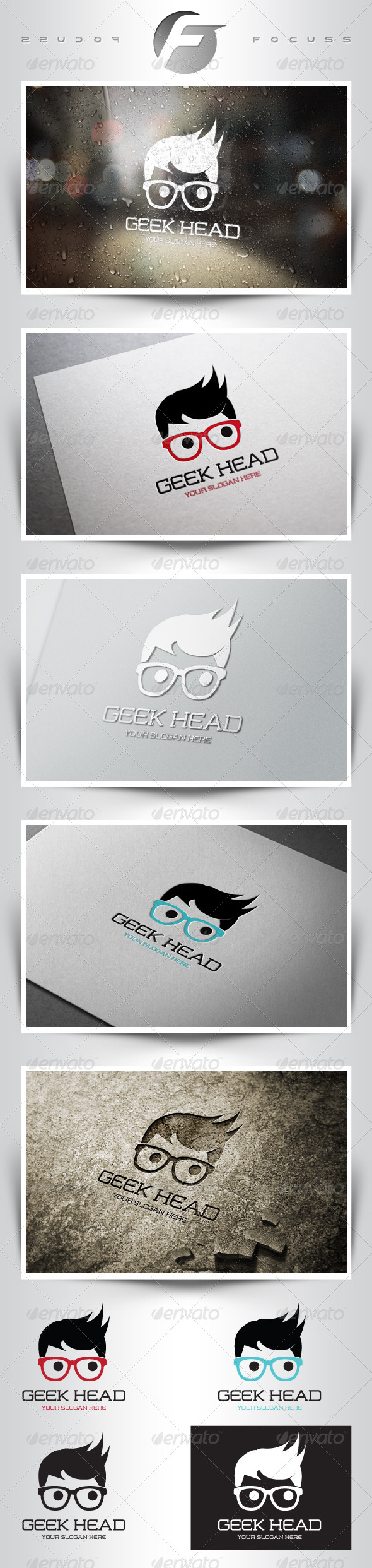 GraphicRiver Geek Head 6508110