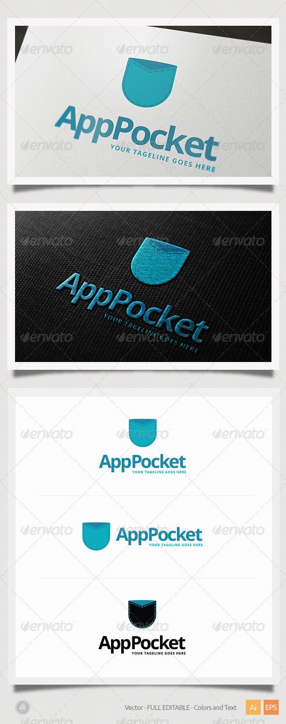 GraphicRiver App Pocket Logo 6508161