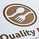 Quality Food Logo - GraphicRiver Item for Sale