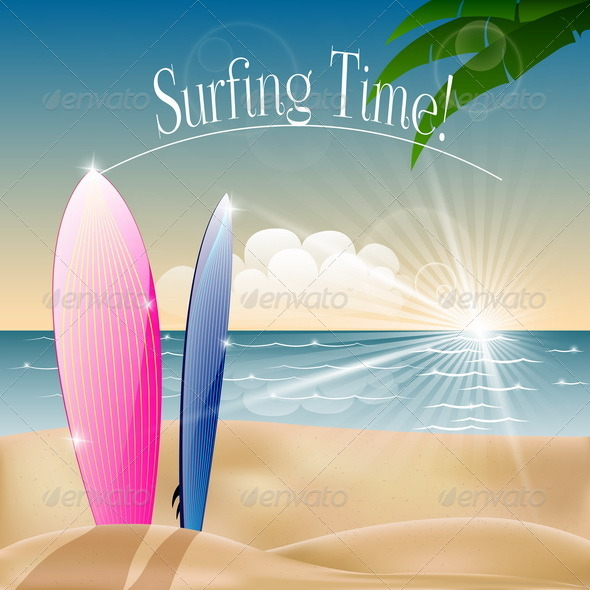 GraphicRiver Summer Time 6508330