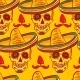 Cinco De Mayo Seamless Pattern  - GraphicRiver Item for Sale