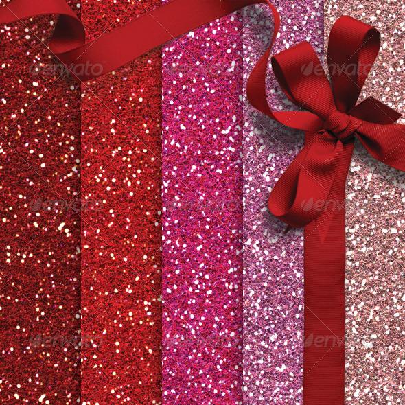 GraphicRiver Valentine Glitter Pack 6508865
