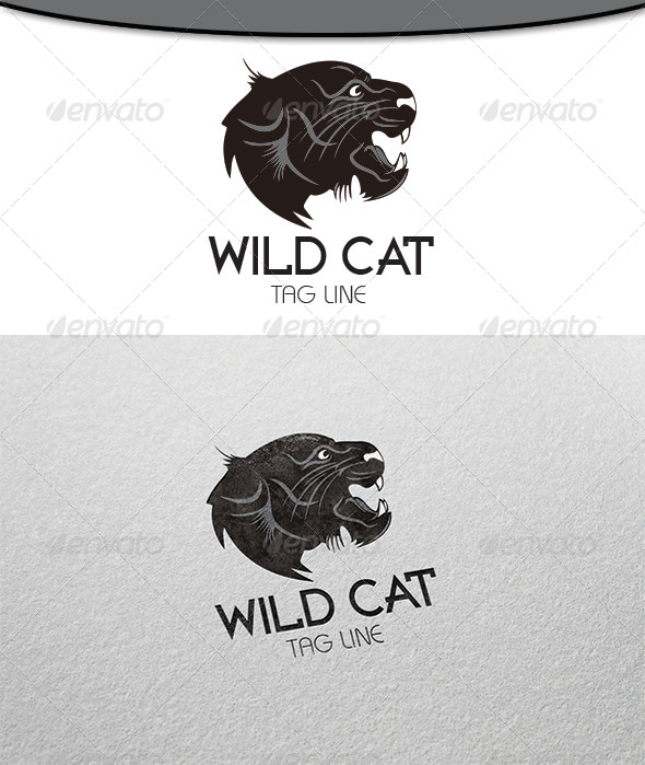 GraphicRiver Wild Cat Logo 6508890