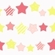 Cute Star Seamless Pattern Background Vector Illus