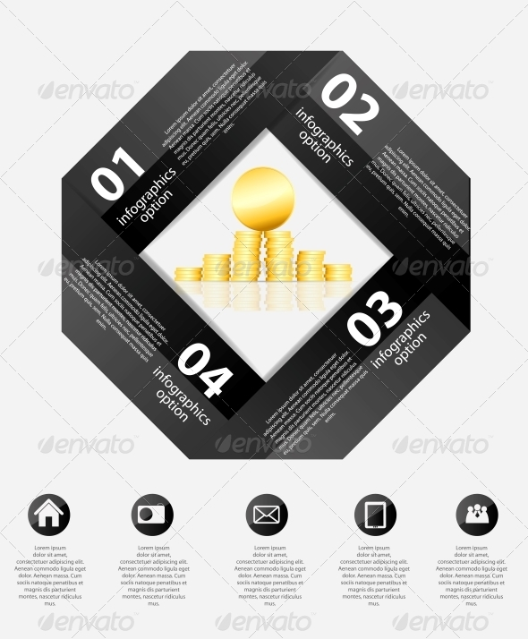 GraphicRiver Infographic Business Template Vector Illustration 6509343