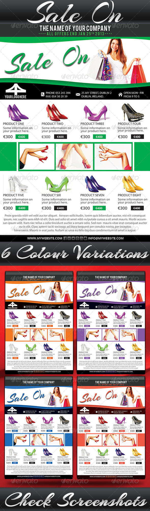 GraphicRiver Sale On Flyer 6484576