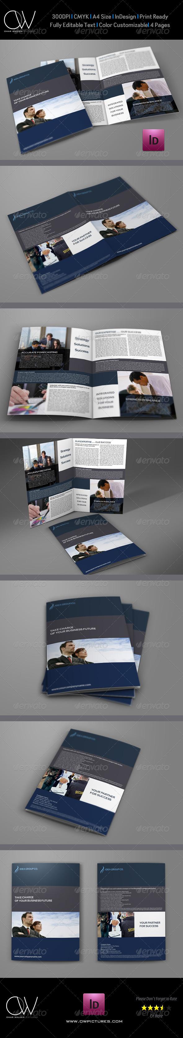 GraphicRiver Company Brochure Bi-Fold Template Vol.14 6509710