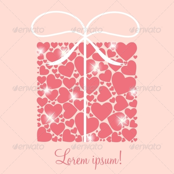 GraphicRiver Valentines Background 6509865