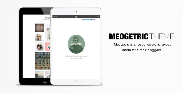 Meogetric - Tumblr Responsive Theme