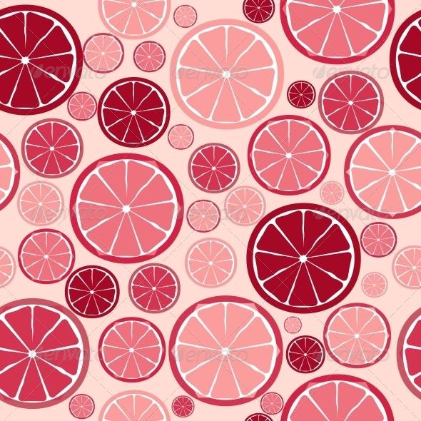 GraphicRiver Fruit Design Seamless Pattern Vector Illustration 6509895
