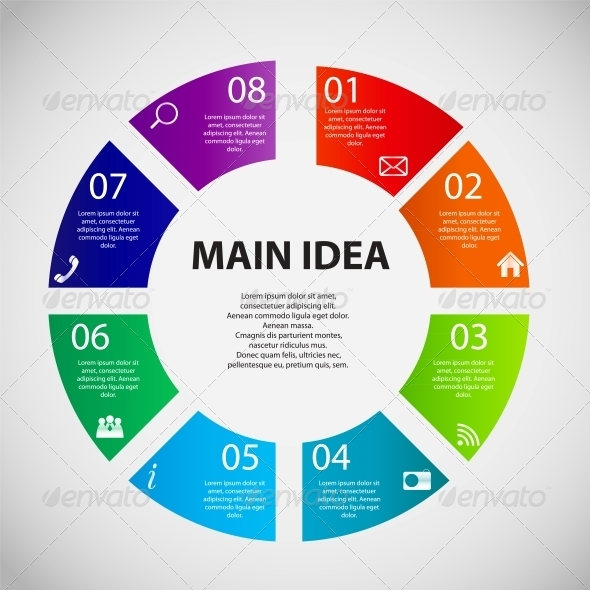 GraphicRiver Infographic Business Template Vector Illustration 6510038