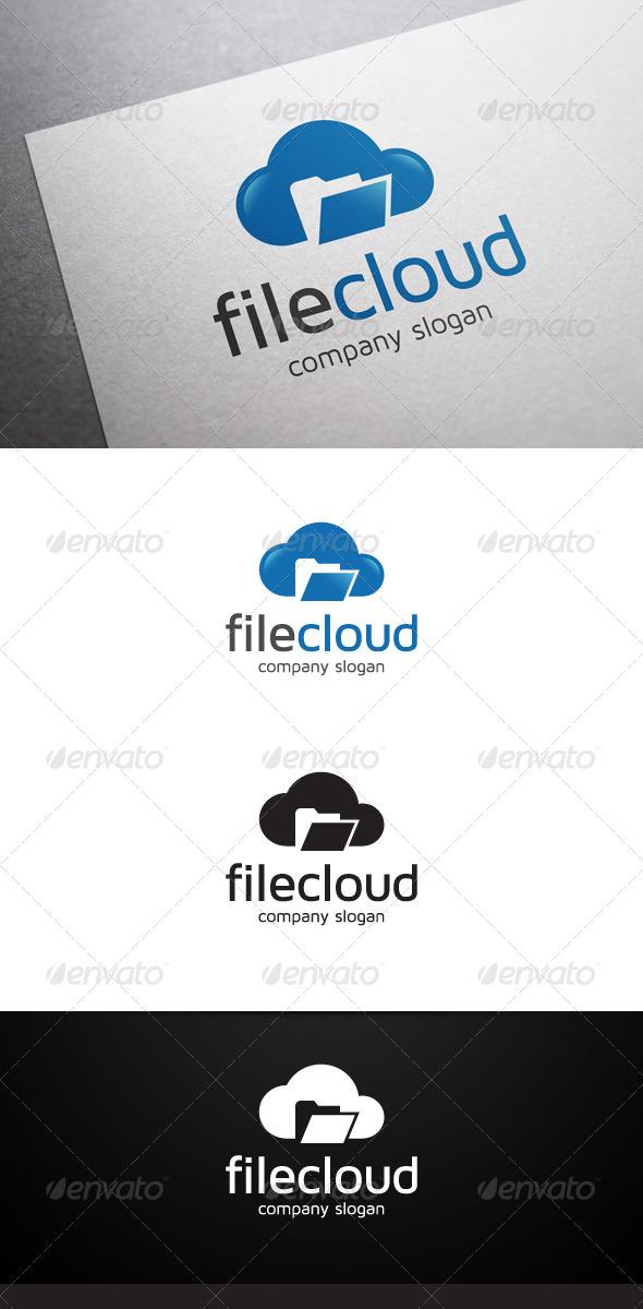 GraphicRiver File Cloud Logo 6510542