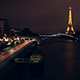 Eiffel Tower by Night - Timelapse - VideoHive Item for Sale